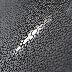 BLACK SHAGREEN