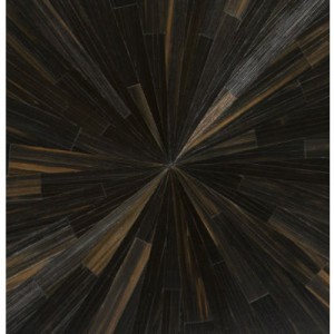 Black Straw Marquetry